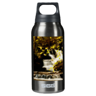 Springtime Waterfall in the Poconos Insulated Water Bottle