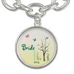 Springtime Wedding Bridal Bracelets