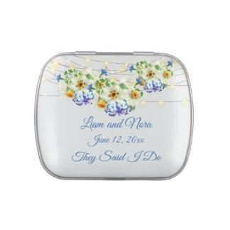 Springtime Wedding Candy Tin