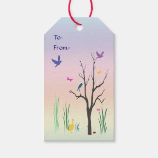 Springtime Wedding Pack of Gift Tags
