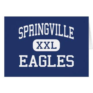 Springville Eagles Middle Springville Utah Card
