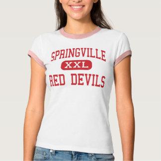 Springville - Red Devils - High - Springville Utah T-Shirt