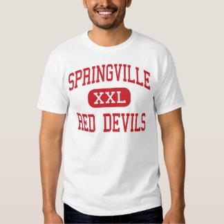 Springville - Red Devils - High - Springville Utah T Shirt