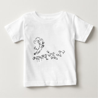 Springy Poodle Baby T-Shirt