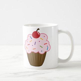 Sprinkle Cupcake Classic White Coffee Mug