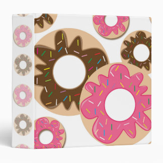 Sprinkle Donuts Binder
