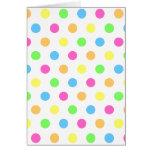 Sprinkle Dot Card