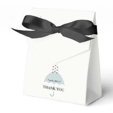 McTiffany Tiffany Aqua Sprinkle Love Pink & Blue Tiffany Shower Favor Box