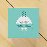 Sprinkle Love Tiffany Teal Blue Party Favor Boxes