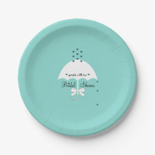 Sprinkle Love Tiffany Teal Blue Party Paper Plates  sc 1 st  Zazzle & Breakfast At Tiffanys Plates | Zazzle