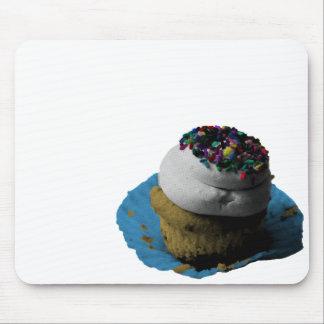 Sprinkled Cupcake Pop Art Mouse Pad