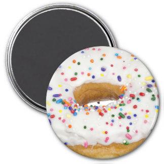 Sprinkled Donut Refrigerator or Locker Magnet