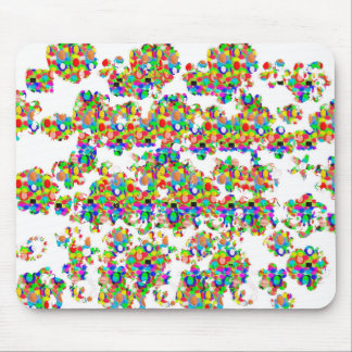 SPRINKLED Jewel Decorations SIGNATURE art by NAVIN Mouse Pad
