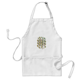 SPRINKLED Jewels Graphics: SIGNATURE Art by NAVIN Adult Apron