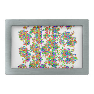 SPRINKLED Jewels Graphics: SIGNATURE Art by NAVIN Belt Buckle