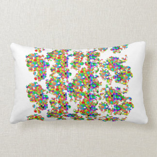 SPRINKLED Jewels Graphics: SIGNATURE Art by NAVIN Lumbar Pillow