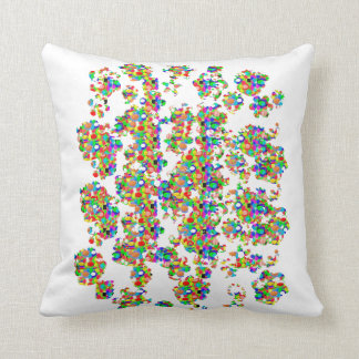 SPRINKLED Jewels Graphics: SIGNATURE Art by NAVIN Throw Pillow