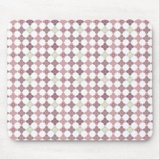 Sprinkled Petals Pattern Mouse Pad
