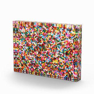 Sprinkles Acrylic Block
