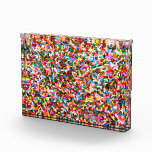 Sprinkles Acrylic Block Acrylic Award