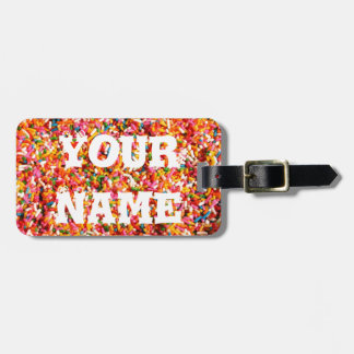 Sprinkles Bag Tag