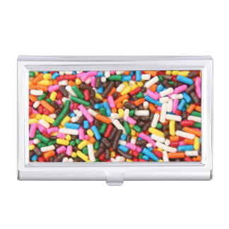 Sprinkles Business Card Holder