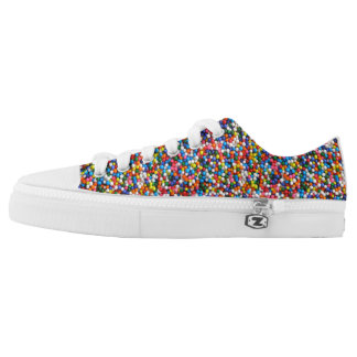Sprinkles Colorful All-Over-Print Multi-Color Low-Top Sneakers