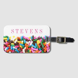 Sprinkles Custom Luggage Tag
