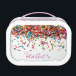 "Sprinkles Custom Lunch Box<br><div class=""desc"">Sprinkles</div>"