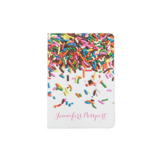 Sprinkles Custom Passport Holder