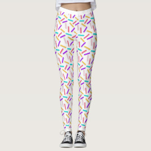 15ad0624bb Women's Sprinkle Leggings | Zazzle