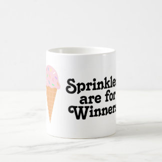 ¡Sprinkles está para los ganadores, campeón! Taza