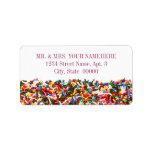 """Sprinkles-Filled Address Labels<br><div class=""""desc"""">Sprinkles-Filled Address Labels</div>"""