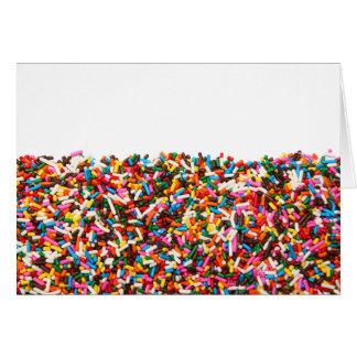 Sprinkles-Filled Cards