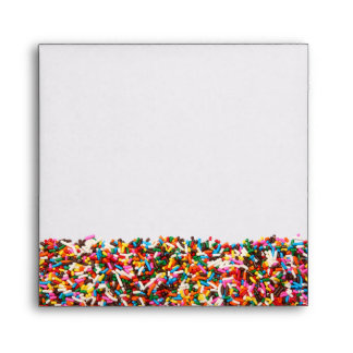 Sprinkles-Filled Envelope