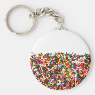 Sprinkles-Filled Keychain