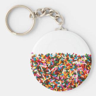 Sprinkles-Filled Keychain