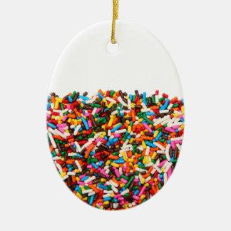 Sprinkles-Filled Ornament