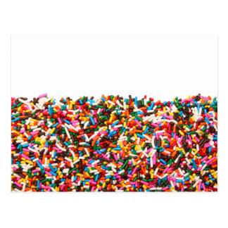 Sprinkles-Filled Postcard