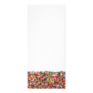 Sprinkles-Filled Rack Cards