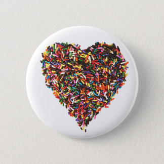 Sprinkles Heart Button