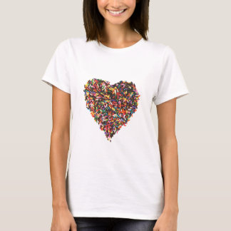 Sprinkles Heart Women's T-Shirt