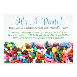 "Sprinkles Invitations 5"" X 7"" Invitation Card"