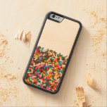 Sprinkles iPhone & Samsung Galaxy Wood Case Carved® Maple iPhone 6 Bumper