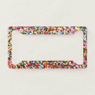 Sprinkles License Plate Frame