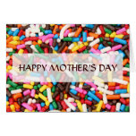 Sprinkles Mother's Day Card