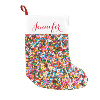 Sprinkles Personalized Christmas Stocking