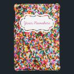 """Sprinkles Personalized iPad Mini Case<br><div class=""""desc"""">Sprinkles</div>"""