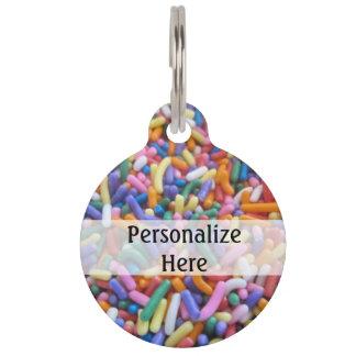 Sprinkles Pet ID Tag