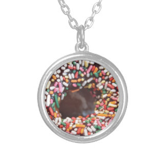 SPRINKLES! ROUND PENDANT NECKLACE